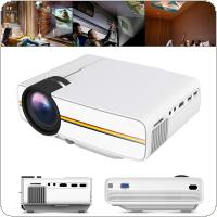 YG410 Universal HD 138 Inch Portable  Mini Homehold Projector Supporting Mobile Phone with Screen