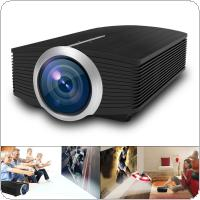 YG500 Universal HD Portable Mini LED Pocket Projector for Home and Entertainment Support 120 Inch Large Screen Projection
