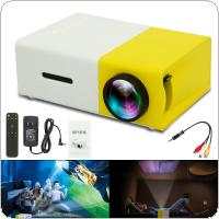 YG300 Universal 60 Inch HD Portable Mini LED Pocket Projector for Home and Entertainment