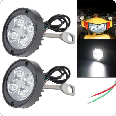 Motorcycle Accessories 2pcs 12V Super Bright LED Spotlight for Motorcycle Universal