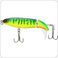 9cm 13g Wobbler Top Water Fishing Lure Artificial Bait Soft Rotating Tail Fishing Tackle