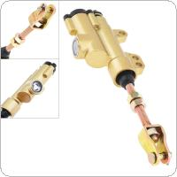 Motorcycle Accessories Gold Metal Shell Word Rear Brake Pump for ATV / CQR250 Off Road Motorcycle