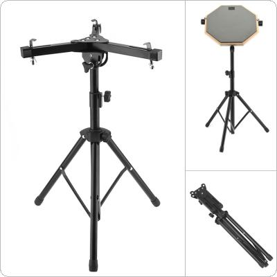 Aluminum Alloy Adjustment Foldable Floor Drum Stand Holder for 10-12 Inch Dumb Drum