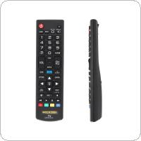 IR 433MHz Replacement TV Remote Control with Long Remote Control Distance Suitable for AKB73975702 / AKB73975701 / AKB75055701 / AKB74475401