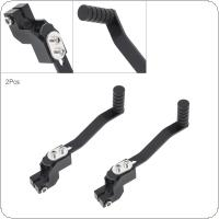Motorcycle Accessories 2pcs Black Aluminum Alloy Shift Lever Single Hanging for 110CC / 125CC Motorcycle