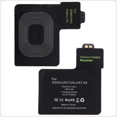 5V 750mA Current WPC 5W QI Wireless Charging Receiver Patch Pad Wireless Charger Receiver Sticker for Samsung Galaxy S4