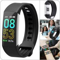B6A Smart Bracelet  80mAh Waterproof Bluetooth Colorful Screen Wristband with Heart Rate Monitoring and Step Counting for MIUI / IOS / Andriod