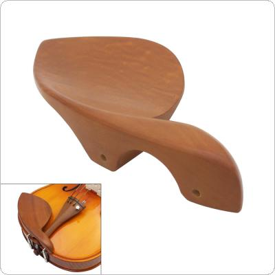 3/4 4/4 Jujube Wood Violin Chin Rest Fiddle Parts Accessories