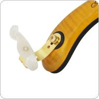 Full Size Adjustable Maple Wood Thick Soft Violin Shoulder Rest Padded for 4/4 3/4 1/2 1/4 Fiddle