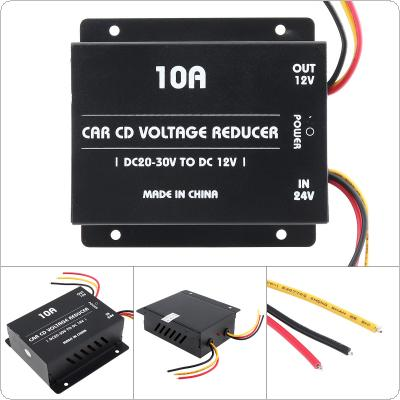 10A 120W DC 24V to 12V Power Converter Electric Inverter Voltage Reducer Step-down Transformer