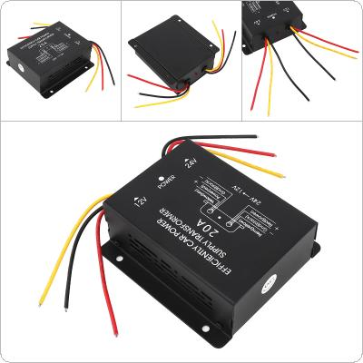 20A 360W DC 24V to 12V Power Converter Electric Inverter Voltage Reducer Step-down Transformer