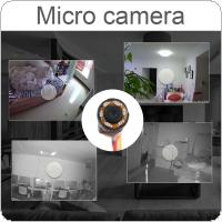 HD 1280 x 960 1000TVL 1/3 Inch CMOS Sensor Miniature Adjustable 4.3MM Lens with IR Night Vision Mini Camera for Monitoring / Recording