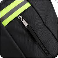 Multifunctional Durable 1680D Oxford Cloth Waterproof Black Double Shoulder Backpack Tool Bag with 14 Pockets and Safety Reflective Strip for Maintenance Tools
