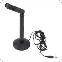 SF-950 Portable Multifunctional Computer Capacitive Microphone for Live Broadcast / Meeting / Speech with Rotatable Microphone Head
