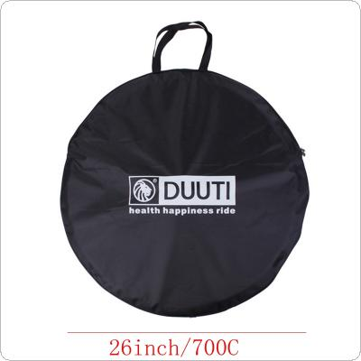DUUTI 26inch MTB Mountain Road Bike Wheel Bag Carrying Package  Folding Bike Carrier Loading Bag with Waterproof