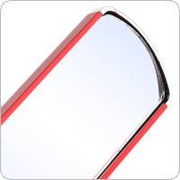 Motorcycle Side Rearview Mirror Aluminum Alloy Electric Vehicle Handlebar Side Red Rearview Mirror Reflector Fit for Motorcycle / Scooter / Mountain Bike