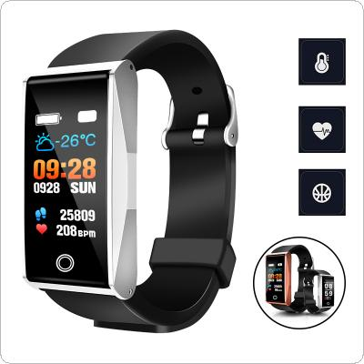 Mate1  0.96 Inch Waterproof Intelligent Multifunctional Sports Bracelet for Android/IOS with Sports Record and Health Monitoring