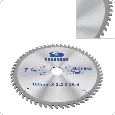 "7"" / 180mm Circular Saw Blade Carbide Blade Aluminum Iron Cutting Blade Electric Saw Power Tool"