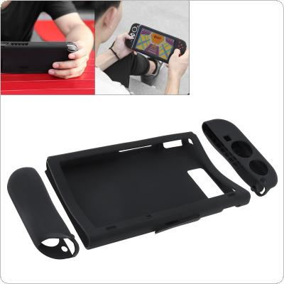 BUBM Silica Gel Protection Case for Nintendo Switch Shockproof Scratch-proof Dirt -Proof Storage Case