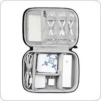 Double Layer Anti-shock Portable Travel Multi-function Tablet / Headset / Charger / Digital Storage Bag