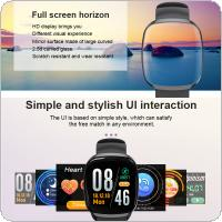 Multifunctional Intelligent Sport Wristband with Touching Screen for Android/IOS Support Heart Rate Monitoring and Message Notification
