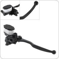 Motorcycle Front Brake Clutch Master Cylinder CNC Reservoir Hydraulic Pump Lever for Yamaha / Honda / Kawasa / Suzuki GN125 / GS125