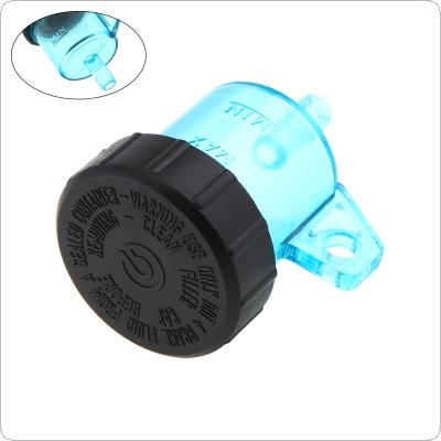 Universal Motorcycle Front Brake Fluid Reservoir Small Blue Oil Cup Split Oil Pot Small Fluid Tank Round for Motorcycle