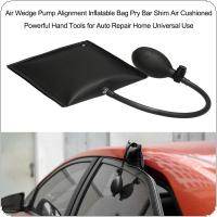 Black Universal Adjustable Door Window Installation Pump Gasbag Auto Entry Tools Air Cushion Supporting Airbag with 25cm Air Pump Pipe