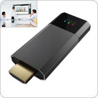 Wecast C8 256M Wireless Display Dongle Anycast DLNA AirPlay Mirror HDMI TV Stick Wifi Miracast Dongle Receiver support Netflix for Ios / Android