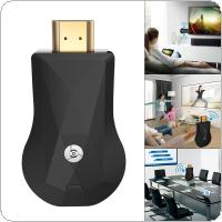 Wecast C3 128M Wireless Display Dongle Anycast DLNA AirPlay Mirror HDMI TV Stick Wifi Miracast Dongle Receiver support Netflix for IOS / Android