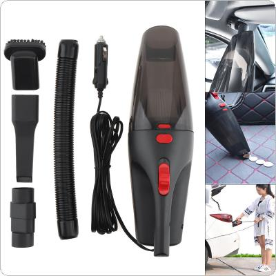 12V 5M 120W ABS Hand-held Car Dry Wet Dual-use  Vacuum Cleaner with Washable HEPA Filter and LED Light