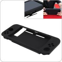 Full Body Protective Cover Silicone Anti-Slip Case with Dustproof and Anti Sweat Fucion Skin Shell Guard for Nintendo Switch