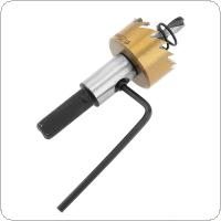 HSS Drill Bit Drilling Hole Cut Tool with 25mm for Installing Locks Door Knobs