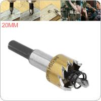 HSS Drill Bit Drilling Hole Cut Tool with 20mm for Installing Locks Door Knobs