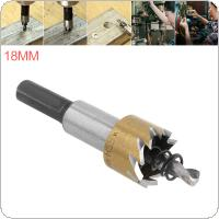 HSS Drill Bit Drilling Hole Cut Tool with 18mm for Installing Locks Door Knobs