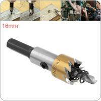 HSS Drill Bit Drilling Hole Cut Tool with 16mm for Installing Locks Door Knobs