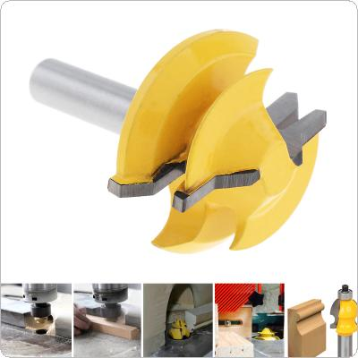 8mm 45 DegreeTenon Milling Cutter with 1-3/8 Inch Blade for Particleboard / Multi-Layer Board / Solid Wood / Medium Fibre Board