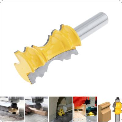 1/2 Inch Door String Course Milling Cutter with 1-1/8 Inch Blade for Particleboard / Multi-Layer Board / Solid Wood / Medium Fibre Board