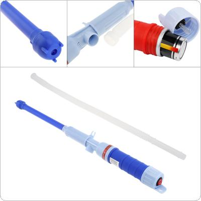 3V 1A Plastic Electric Pumping Filling Oil Pump with Fuel Liquid Transfer Pump Pipe  for Car / Boat / Motorcycle