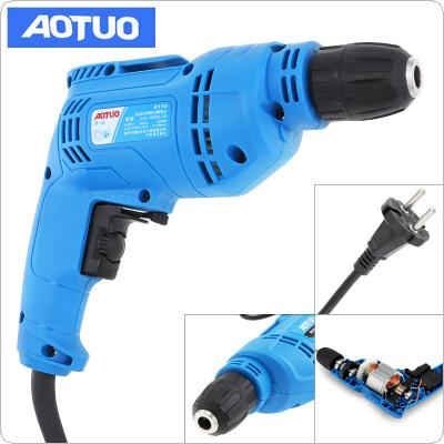 220V 450W Multifunctional Adjustable Electric Drill with Hanging Design and 3/8 Inch Self-Locking Chuck for Handling Screws / Punching / Polishing / Cutting