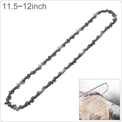 11.5-12'' Electric Saw Chain Blade Wood Cutting Chainsaw Parts with 50-52 Drive 3/8 Pitch Chainsaw Saw Mill Chain for Guide Plate Angle Grinder