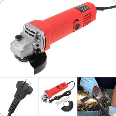 220V 700W 12000rpm Multifunction Electric Angle Grinder with Protective Cover Support 100mm Polishing Disc for Household / Factory Polishing and Rust Removal