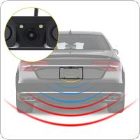 USA License Plate Video Parking Sensor with LED Night Vision Rear View Camera and Buzzer
