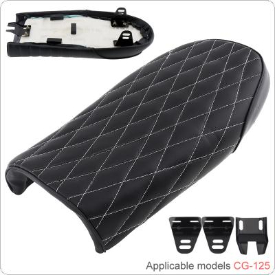 Retro 3D Mesh Motorcycle Seat Cover CG125 Breathable Sunproof Motorbike Scooter Seat Covers Cushion for Honda / Yamaha / Suzuki