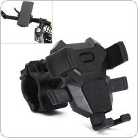 Motorcycle Bicycle Phone Holder with Handlebar Bracket for Car Motorbike GPS Stand for 4-7 Inch Mobile Phone