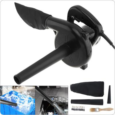 750W Multifunctional Portable Electric Hand Operated Blower with Suction Head and Collecting Bag for Removing Dust