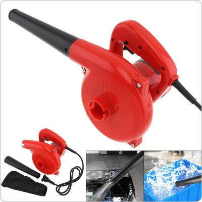 600W Multifunctional Portable Electric Hand Operated Blower with Suction Head and Collecting Bag for Removing Dust