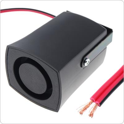 Black 105dB Reversing Back up Alarm Horn Speaker for Motorcycle Car Vehicle
