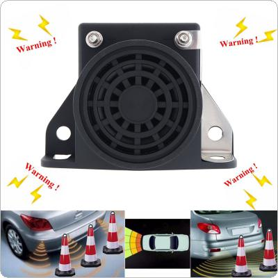 Black 105dB Reversing Back up Alarm Horn Speaker for Vehicle Truck Trailer Bus Parts