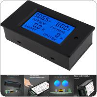 DC 6.5-100V 20A 4 IN1 Digital LCD Ammeter Voltmeter Voltage Current Power Energy Car Motorcycle Volt Meter